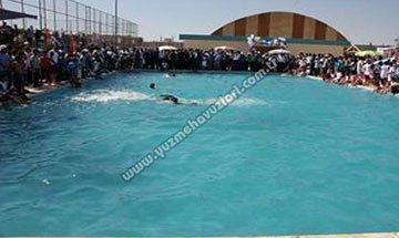 Şanlıurfa Yenice Yarı Olimpik Yüzme Havuzu